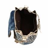 Sacchetto di lusso della signora spalla delle nappe dei Rhinestones (MBNO040042)