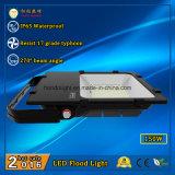 110lm/W와 270 광속 각을%s 가진 세륨 RoHS 승인되는 IP65 옥외 LED 투광램프 150W