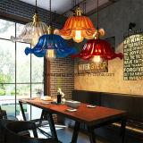 Zes Kleuren voor de BinnenLamp van de Tegenhanger van de Verlichting met Glas in de Zaal van het Diner