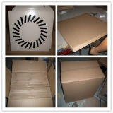 Carré de la plaque d'air swirl diffuseur de plafond