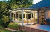 Estilo personalizado Double Laminate Glass Aluminium Sunroom para jardim e varanda