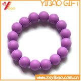 Projetar os braceletes quentes do silicone da venda da forma (XY-SB-011)