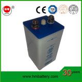 Bateria alcalina recarregável Ni-CD Kpl250 para iluminação, sinalização ferroviária, ferroviária.