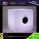 Altoparlante basso eccellente illuminato di Bluetooth del cubo chiaro di colore LED