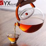 Чайник боросиликатного стекла Китая Лучш-Сбывания к воде чирея/бессвинцовому стеклу Thermos с кофеего чая вливания баком стеклянного кипя