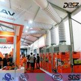 Berufsereignis, das 3 Phasen-Klimaanlagen-Luft abgekühlten Kühler für das Ausstellung-Abkühlen abkühlt