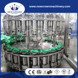 الصين [هيغقوليتي] [مونوبلوك] 3 في 1 زجاجة يملأ معمل ([غلسّ بوتّل] مع ألومنيوم غطاء)