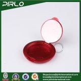 le massage facial desserré de luxe en plastique plat rouge de contrat de poudre 2g rougissent conteneur de poudre