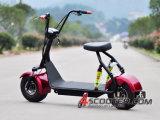 De hete Verkopende Elektrische Autoped van Coco van de Stad Harley met de Dubbele Voor & AchterOpschortingen van de Schok
