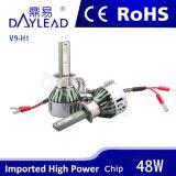 farol relativo à promoção do diodo emissor de luz V9 de 6000k 4800lm com microplaqueta da Philips