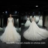 3/4 шнурка фотоих платья венчания втулок мантий Ya116 шарика реального изготовленный на заказ Bridal