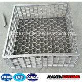 Tratamiento térmico del acero inoxidable de fundición base de la bandeja cesta