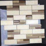 性質の建築材料のガラスモザイクが付いている石造りの床タイル