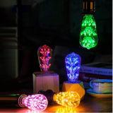Luzes extravagantes do diodo emissor de luz do bulbo decorativo E27 de edison do filamento MTX-ED58