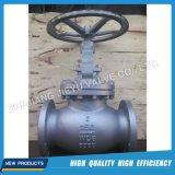 Edelstahl flanschte manuelles Wasser/industrielles Kugel-Ventil