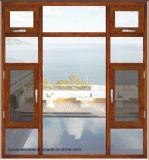Het Australische StandaardOpenslaand raam van uitstekende kwaliteit van het Aluminium van de Invoer