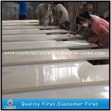Küchecountertops-materielle künstliche weiße Quarz-Steine/Quarz-Produzent