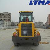 Ltmaのローダー2tの1.2 M3バケツ容量のコンパクトな車輪のローダー