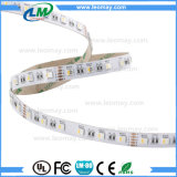 Venta caliente SMD5050 4en1 Magic tira de LED flexible para uso interior