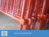 Barriera di controllo di folla del blocco per grafici del tubo della pittura