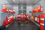 Jiachen Cono de tráfico plegable con luz LED