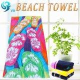 反応印刷されたビーチタオル
