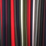 Ondulación del agua Todos los colores de lana tejido listo Greige Tela
