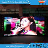 P3.91 Curved Moving/Mobile Outdoor Sign LED Display Screen for Project Vents
