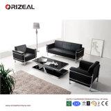 Orizeal 현대 디자인 가죽 소파, 3 Seater 사무실 소파 (OZ-OSF004)