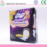 Garniture sanitaire de vente de femmes molles chaudes de coton