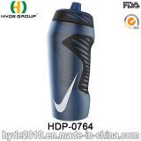 600ml het runnen van de Vrije Plastic Flessen van het Water van de Sport BPA, de Plastic Flessen van het Water van de Sport (hdp-0764)