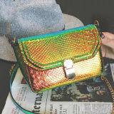輝いたCrossbody Bag Fashionヘビの穀物の女性バッグレディーメッセンジャーのハンド・バッグSy7849