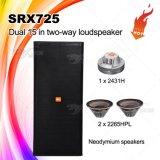 "Srx725 Dual 15 ""caja de altavoces de audio PRO"
