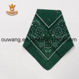 Bandana poco costoso promozionale del cotone del quadrato di modo