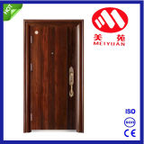 Puerta de acero de la seguridad europea del estilo para la puerta interior y exterior