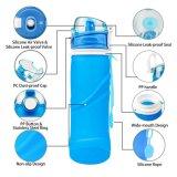 Бутылки воды спорта силикона складные
