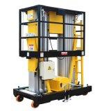 plataforma de trabajo aéreo hidráulica móvil de los 6m para la instalación y el mantenimiento