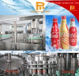 Bebidas carbónicas automáticas del CO2 de la soda que llenan y embotelladora