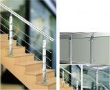 Seite eingehangenes Edelstahl-Geländer für Terrasse (HR1345C-4)