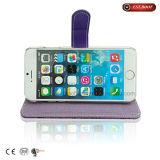 iPhone 7 케이스 PU 가죽 지갑 주머니 손가락으로 튀김 전화 상자