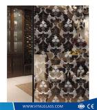 La impresión de seda vital arte decorativo de vidrio, con Ce & ISO9001