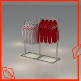 小売店のための金属の衣服の陳列台