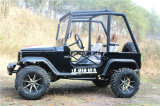 De cuatro ruedas Mini Jeep negro ATV eléctrico deportivo