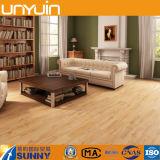 Non plancher en bois en plastique de tuile de PVC de configuration de COV