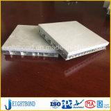La Chine prix d'usine placage de marbre pierre noire en aluminium Panneau alvéolé pour les matériaux de construction