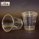 عالة يطبع واضحة شفّافة مستهلكة محبوب بلاستيك فنجان