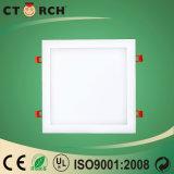 Indicatore luminoso di comitato quadrato di Ctorch LED di alta qualità 12W con Ce