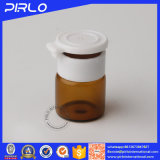 colore Vail di vetro farmaceutico di 1ml Brown con il coperchio strappante