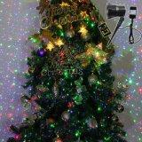 Luz de Laser de Natal Mostrar Star Projetor Laser Verde Vermelho iluminação com Sensor de luminosidade