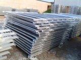 El acero galvanizó los 6 paneles de la yarda del ganado de las barras